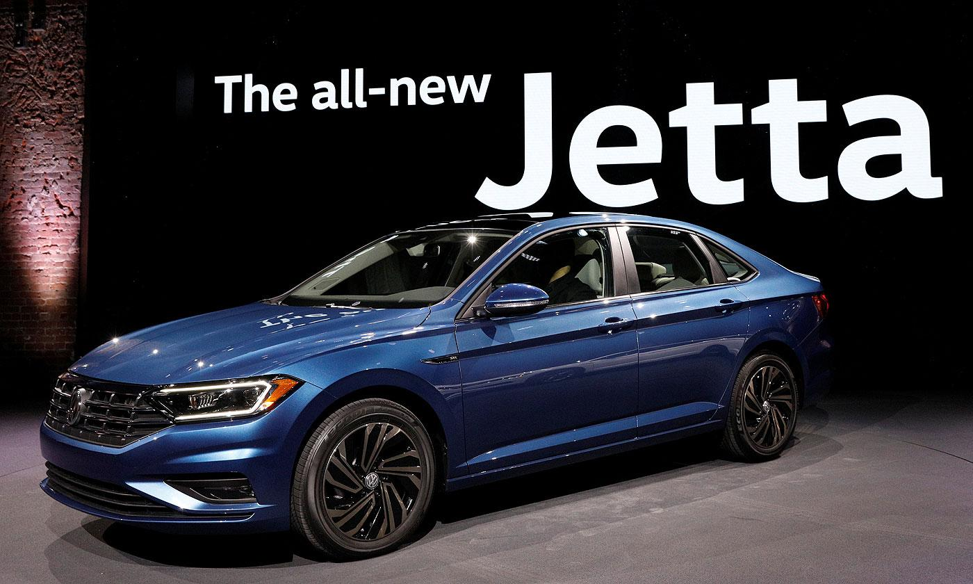 VW's 2019 Jetta gets bigger on new platform