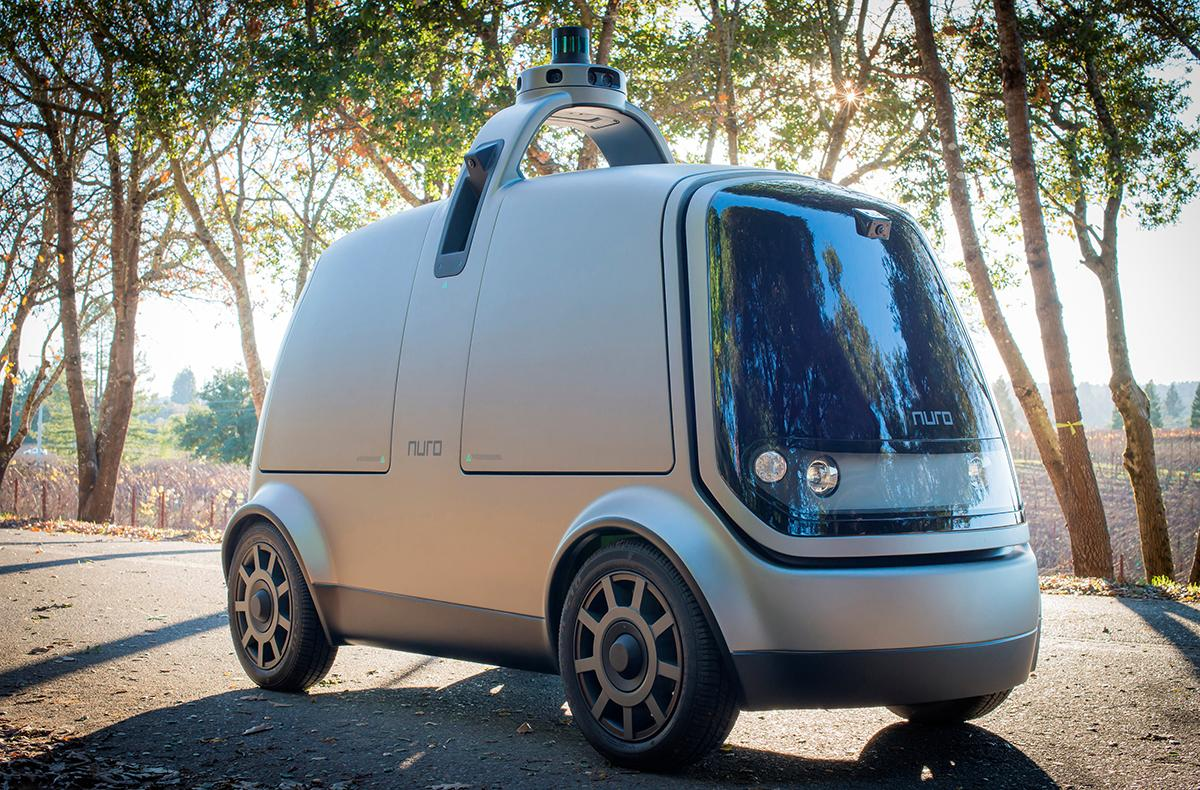How Silicon Valley startup Nuro envisions delivery van of the future
