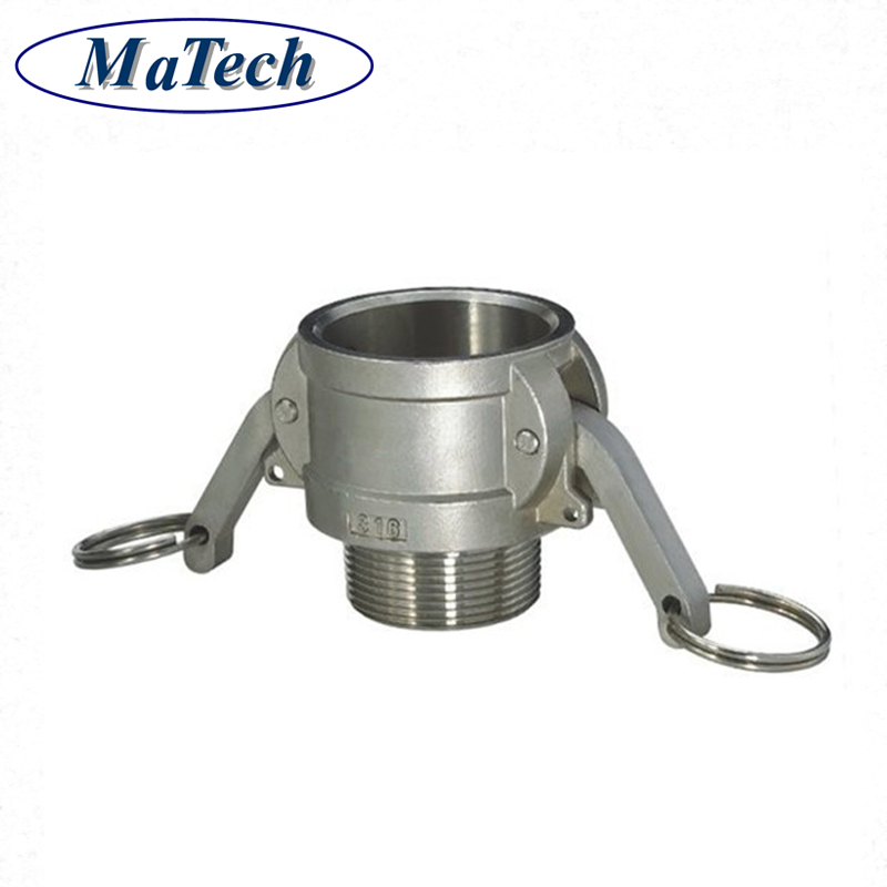 Stainless Steel Cast Mechanical Threaded Quick Disconnect Coupling