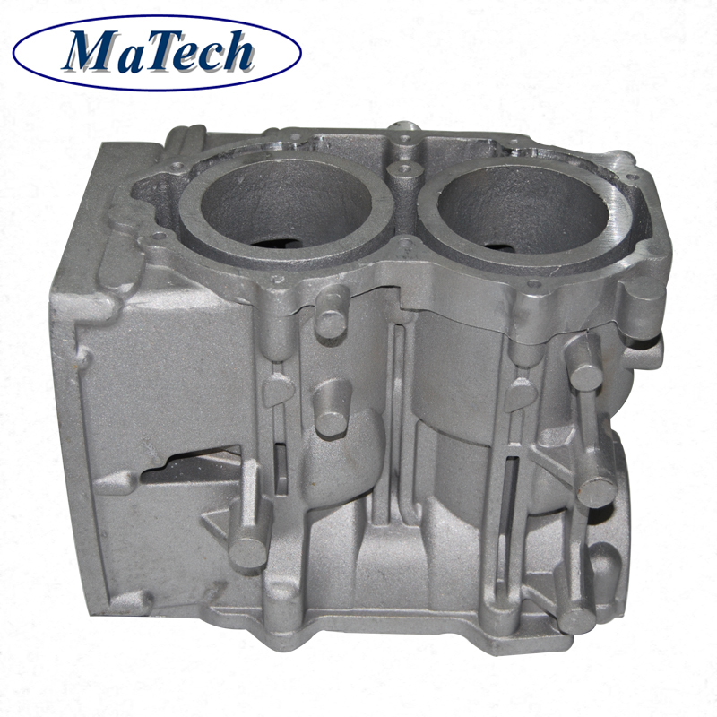 Precision Aluminum Low Pressure Casting Machinery Engines Block Parts