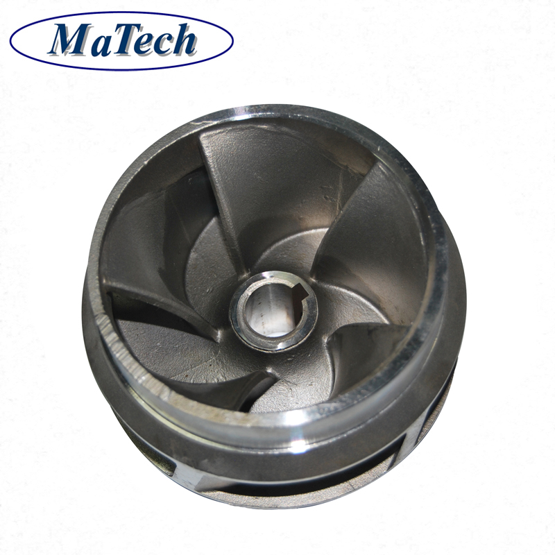 High Precision Stainless Steel Investment Casting Pump Impeller